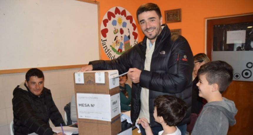 Ezequiel Galli: 'en las escuelas recibí muchas muestras de cariño'