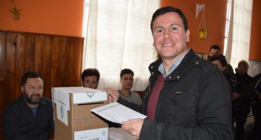 """Federico Aguilera: """"estamos ansiosos, pero con optimismo"""""""