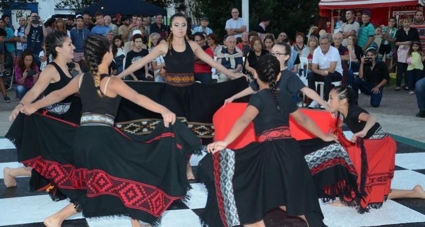 Taller de Folclore en el NIDO del Barrio El Progreso