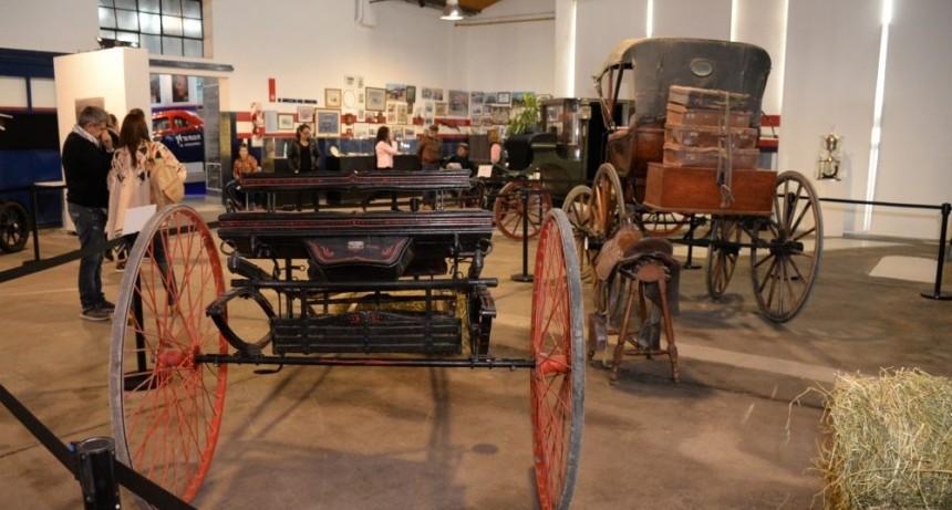 Hasta el 1° de septiembre podrá visitarse la muestra 'Carruajes en el Museo'