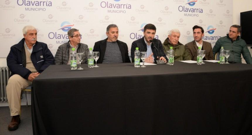 Galli: 'la industria de Olavarría está de pie y en marcha'