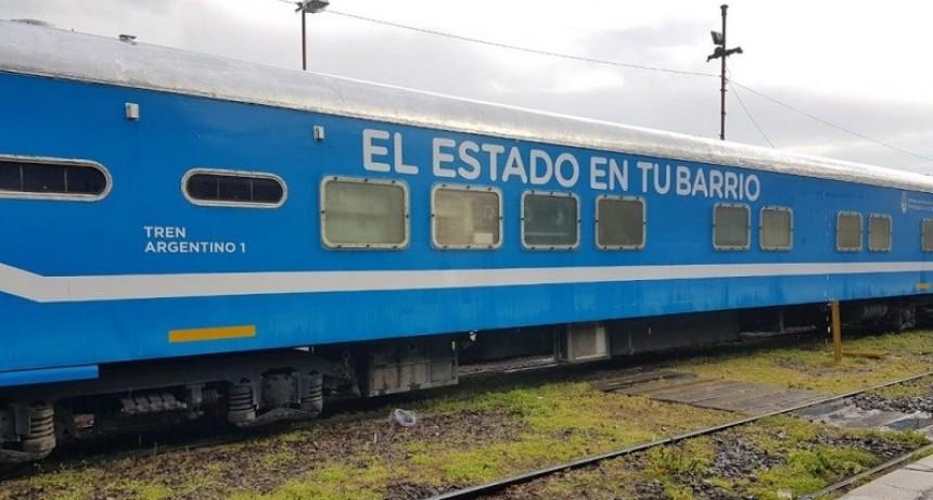 """Vuelve el tren de """"El Estado en Tu Barrio"""""""