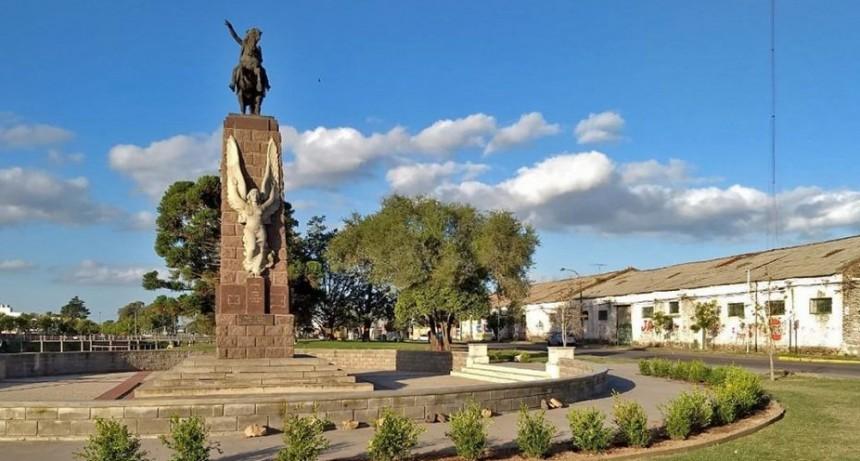 Acto homenaje al General San Martín
