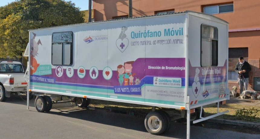 El Quirófano Veterinario Móvil llegará a Colonia San Miguel