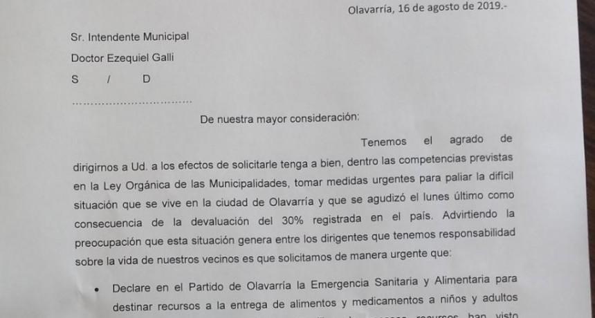 Concejales eseverristas piden la Emergencia Sanitaria y Alimentaria