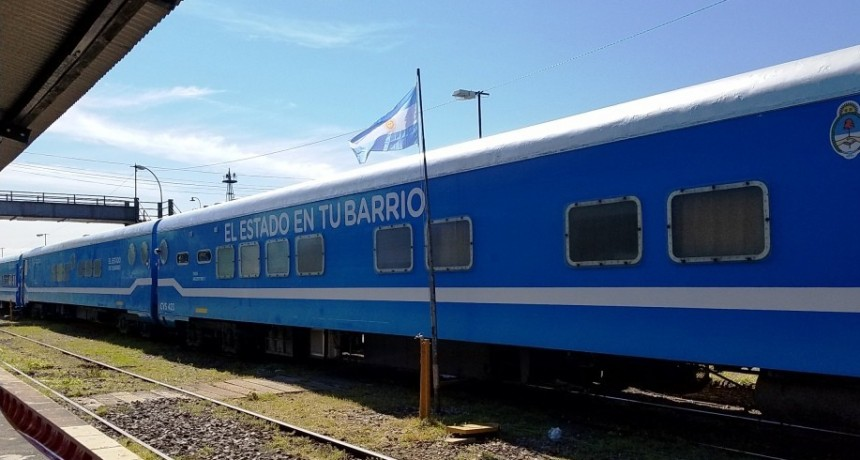 Comienza a atender el tren de 'El Estado en Tu Barrio'