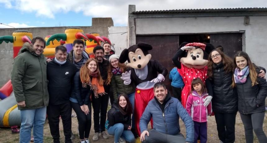 Barrio Belén: La UCR festejó el día del niño