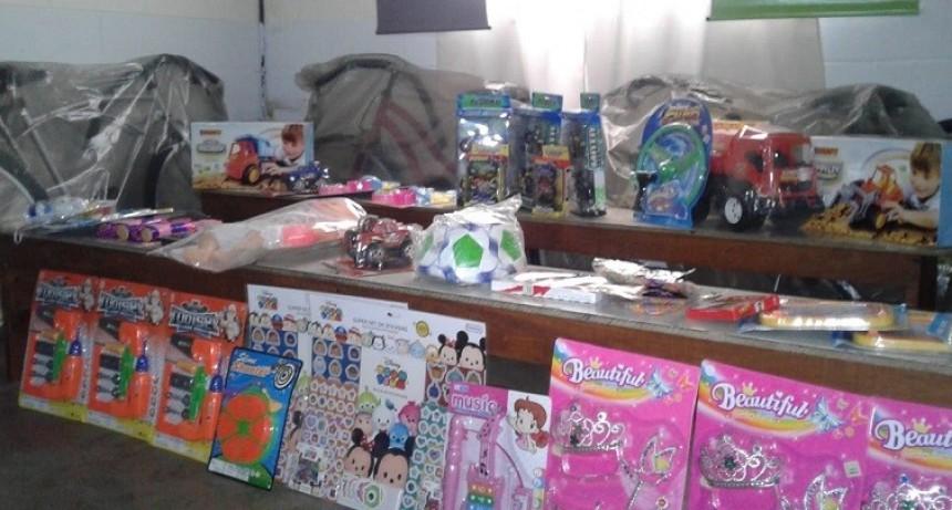 Sorteo de viajes y juguetes para hijos de penitenciarios, en el Día del Niño