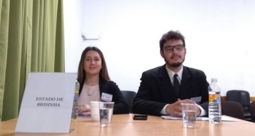 Estudiantes de la Facultad de Derecho UNICEN participan de la Competencia Interuniversitaria de Derechos Humanos en La Plata