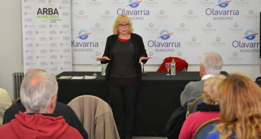 ARBA y el Municipio asesoraron sobre beneficios fiscales