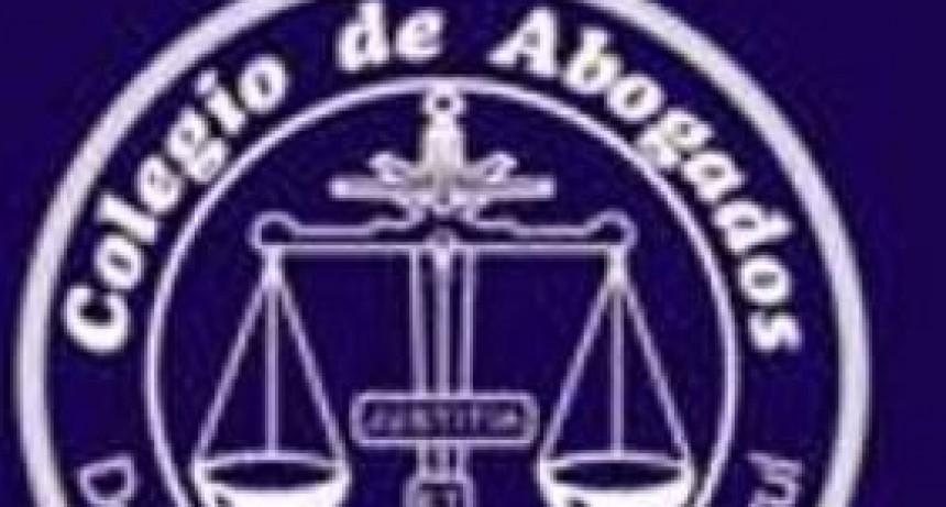 El Colegio de Abogados recorrerá todo el departamento judicial