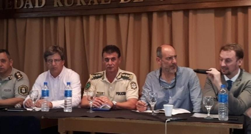 Fiscal Moyano: ' la seguridad la hacemos entre todos'