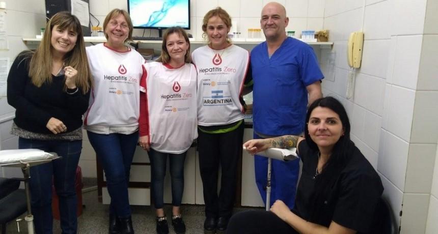 Exitosa campaña de detección gratuita de Hepatitis C