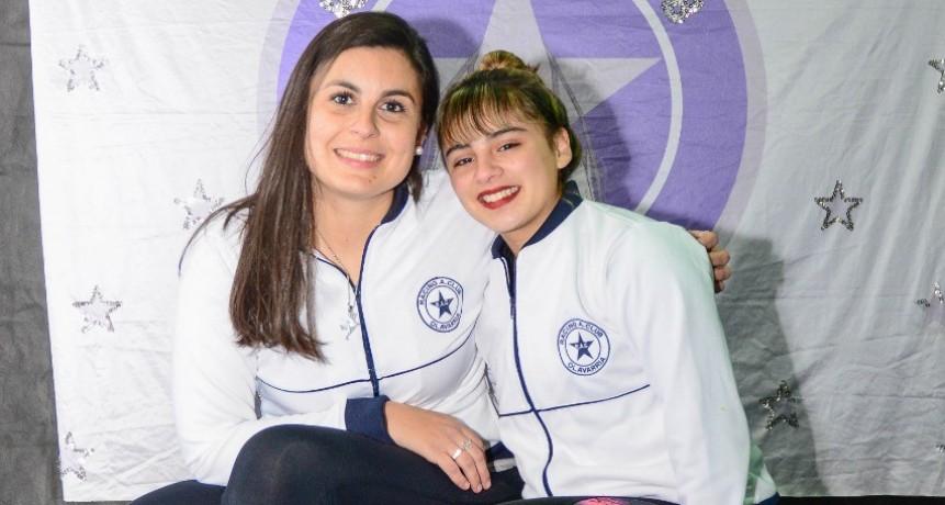 Morena Gallo en el Campeonato Nacional de Patín Artístico