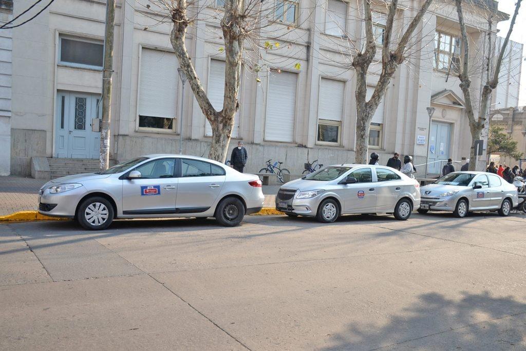 Nueva parada de taxis en el centro de la ciudad
