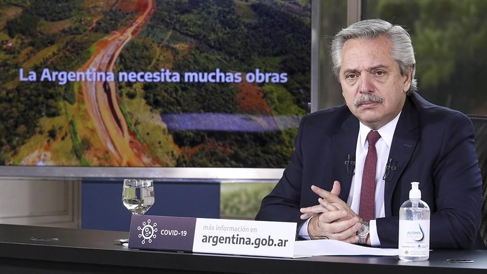 Fernández, sobre la deuda: