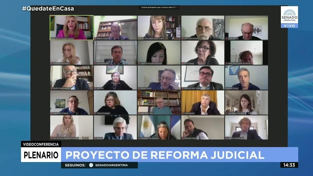 Mayoría de objeciones a la Reforma Judicial durante la segunda audiencia