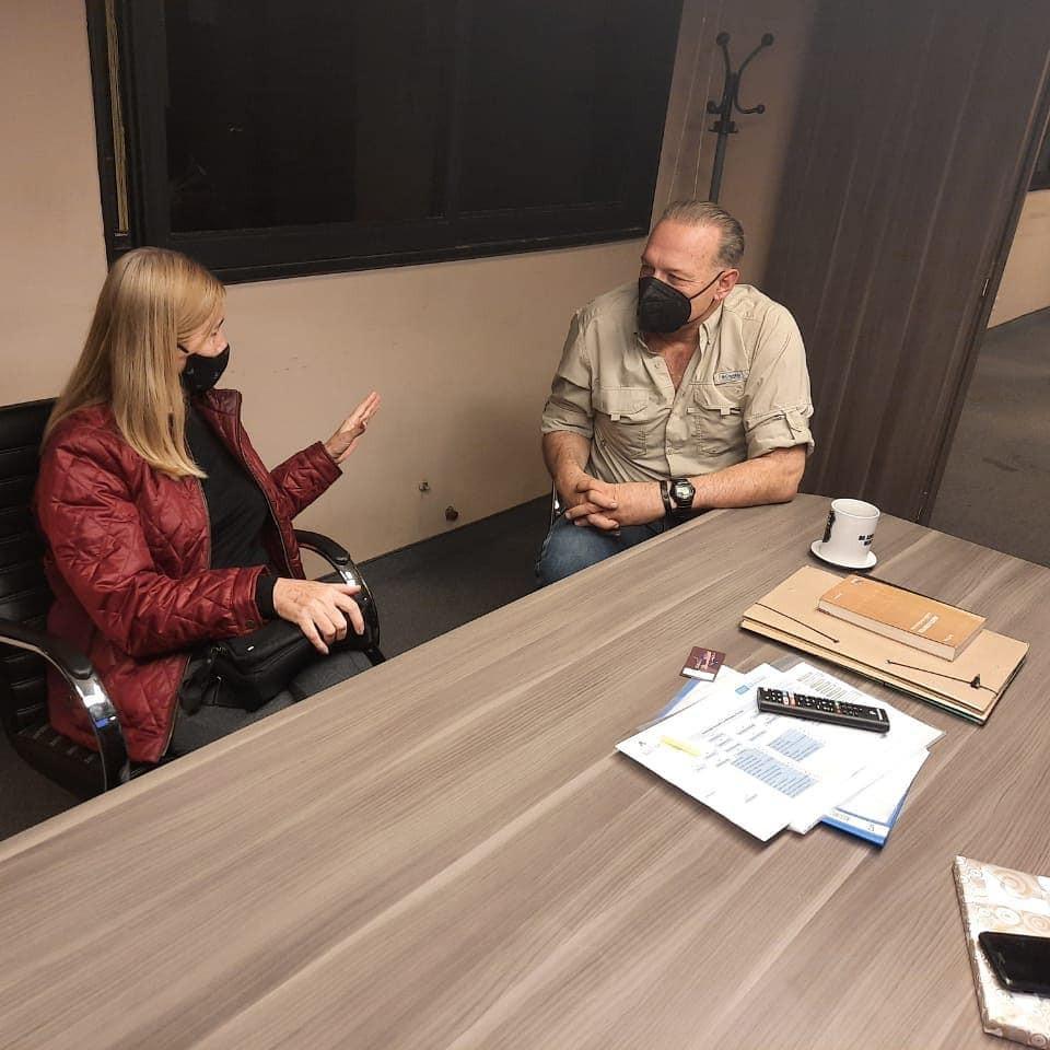 La diputada Schwindt se reunió con el Ministro Berni