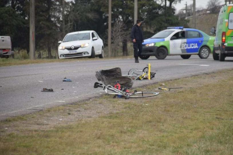 Un ciclista falleció en un hecho de tránsito