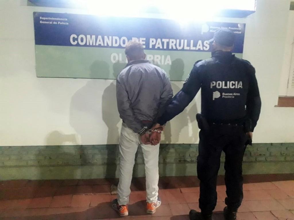 Detenido por violar restricción de acercamiento