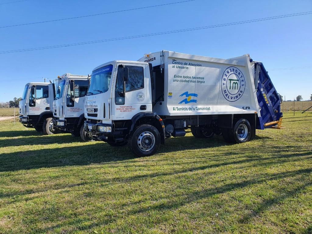 Malvinas incorporó más unidades al servicio