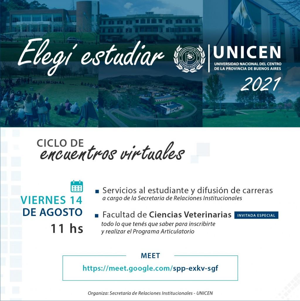 La UNICEN difunde sus carreras de manera virtual, mirando hacia el 2021