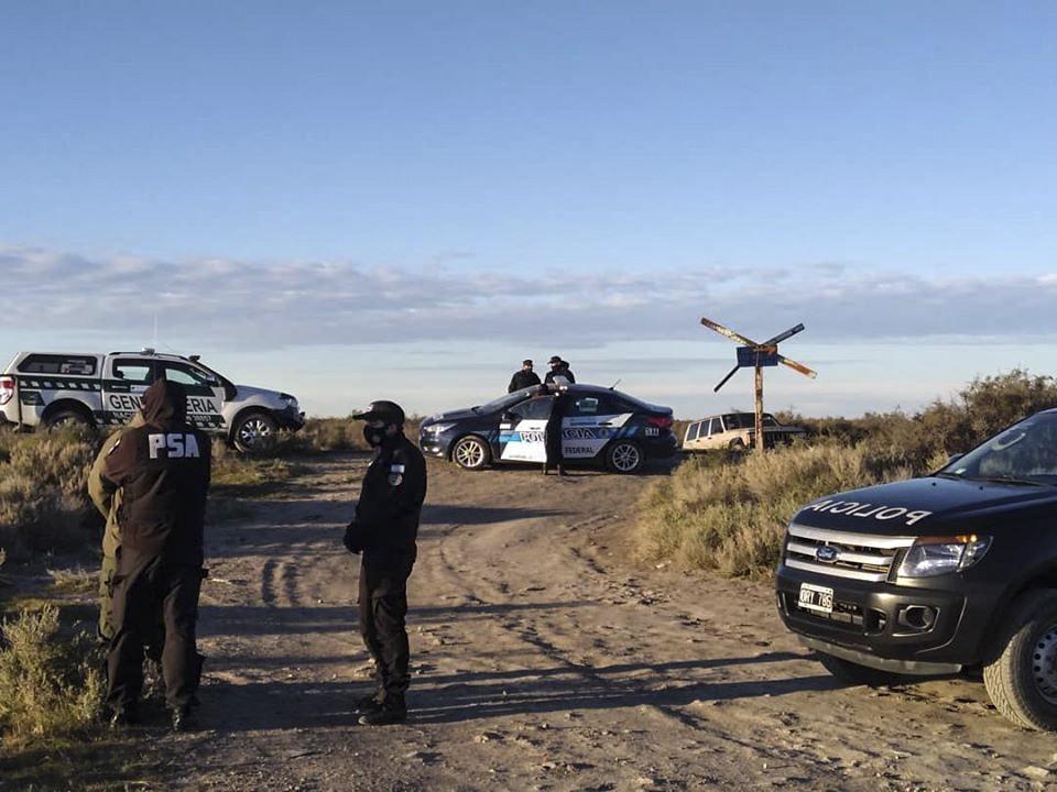 El Equipo Argentino Argentino de Antropología Forense está en la zona donde se halló un cadaver
