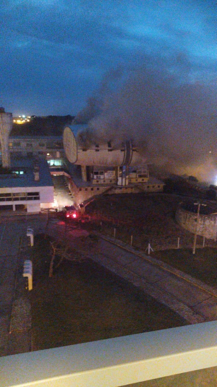 Otra vez: incendio en el edificio del Casino de Necochea