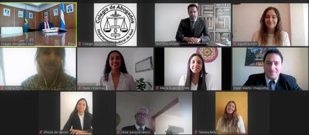 Segunda jura virtual del Colegio de Abogados Departamental