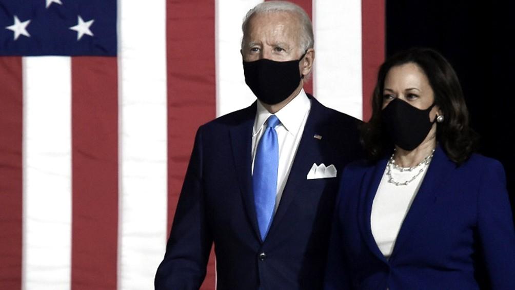 Todo listo en EEUU para la gran noche de Biden antes de enfrentar a Trump en las urnas