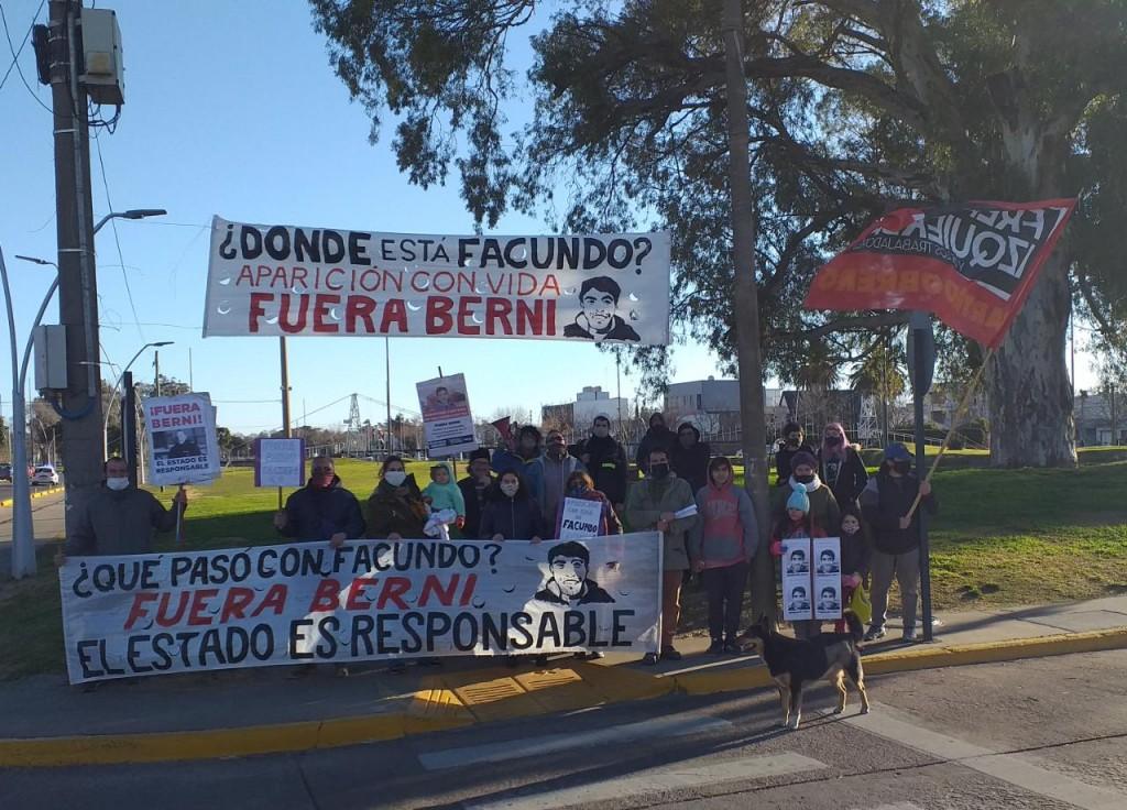 Vandalizaron pasacalles que pedían por Facundo Astudillo Castro
