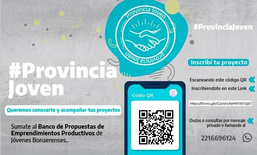 La Provincia lanza un programa para proyectos productivos de jóvenes