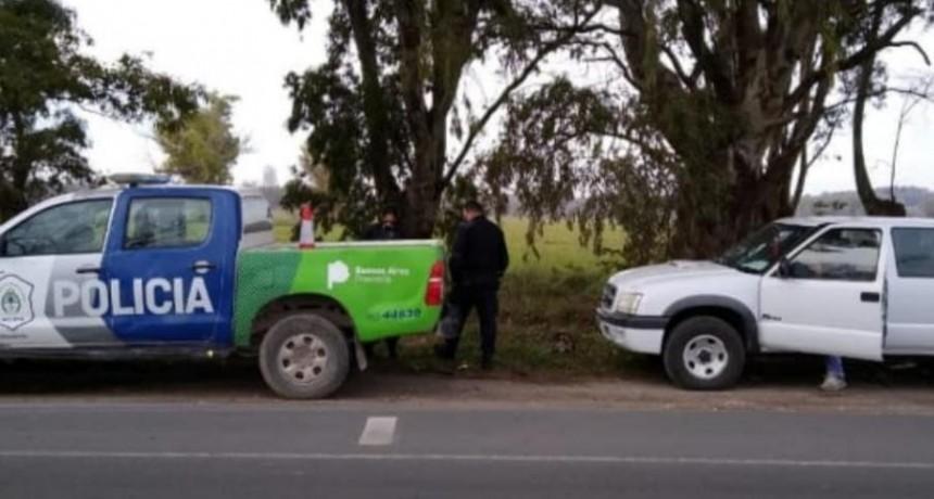 Dos aprehendidos por la Subcomisaría Loma Negra al cortar leña sin permiso