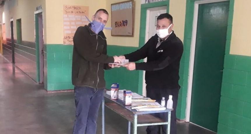 Provincia culminó la entrega de cuadernillos en las cárceles