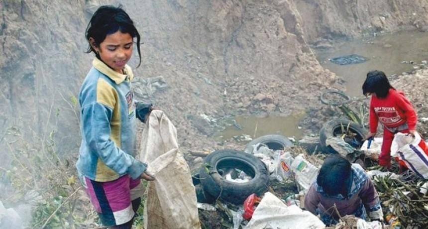 Según UNICEF, la pobreza infantil es del 62,9% y alcanza a más de 8 millones de chicos en Argentina
