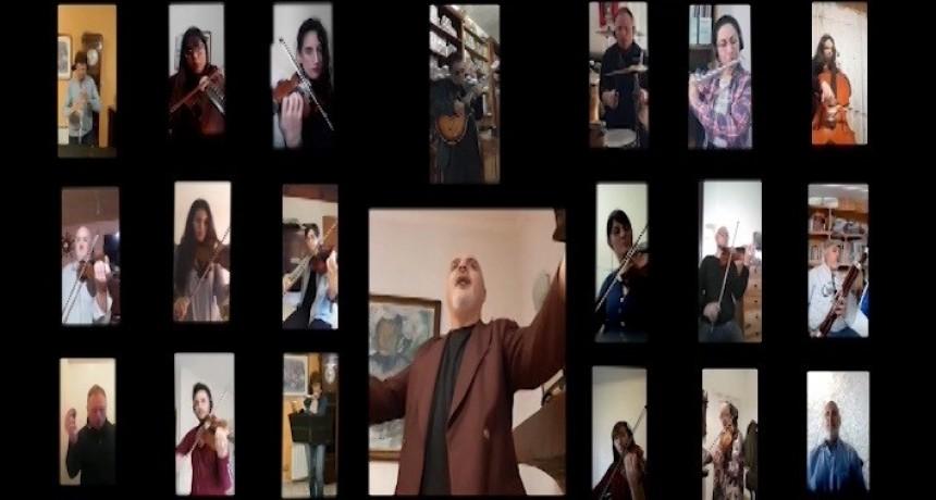 La Sinfónica Municipal presenta una producción musical didáctica en formato virtual