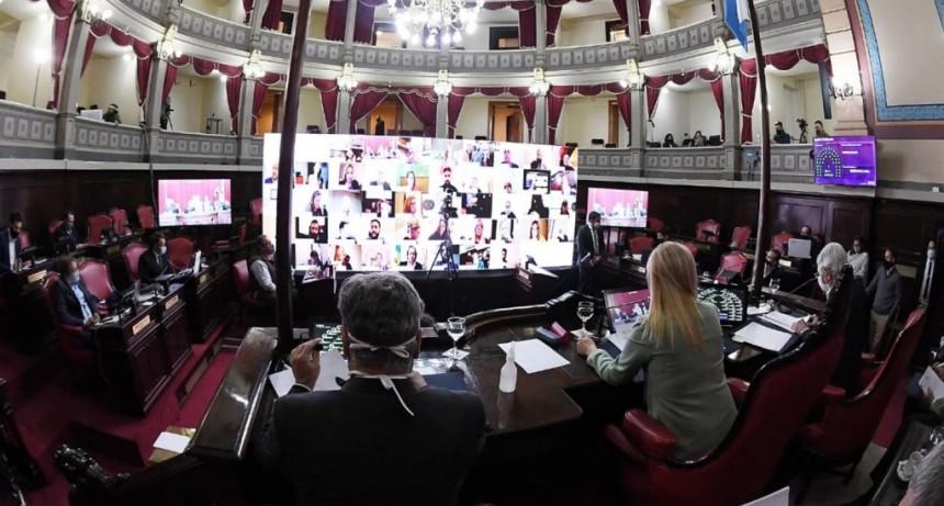 Por unanimidad en el Senado, aprobaron el endeudamiento de la Provincia