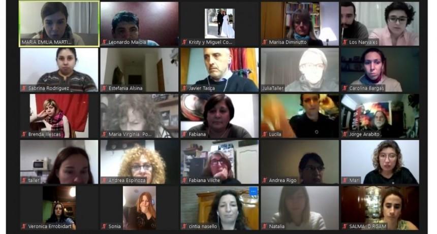 Comenzó la segunda edición del taller de redes sociales