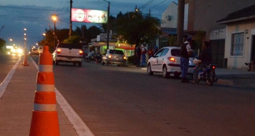 Tránsito: una docena de actas y se retuvieron dos licencias de conducir