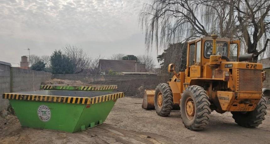 Se reanudó el servicio de acopio de residuos secos en Loma Negra