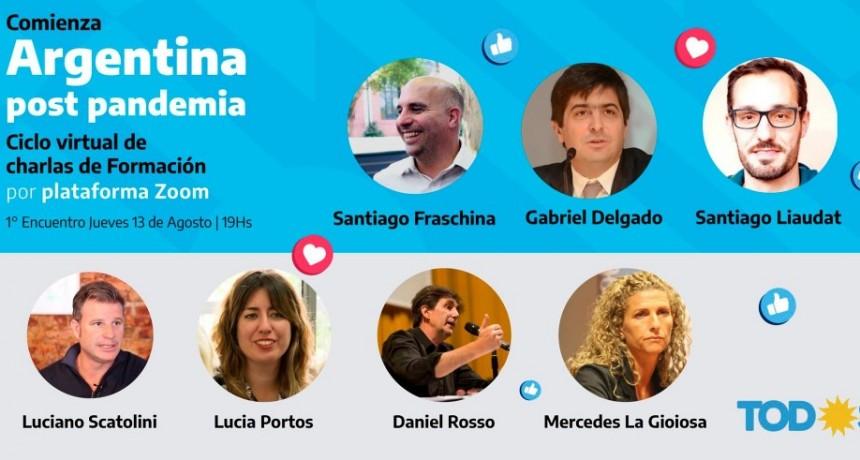 Comienza el ciclo de charlas Argentina post Pandemia