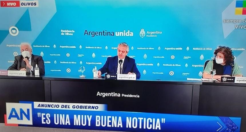Argentina producirá la vacuna de Oxford