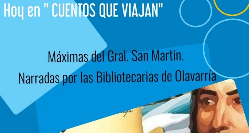 En Cuentos que viajan : las máximas de José de San Martín