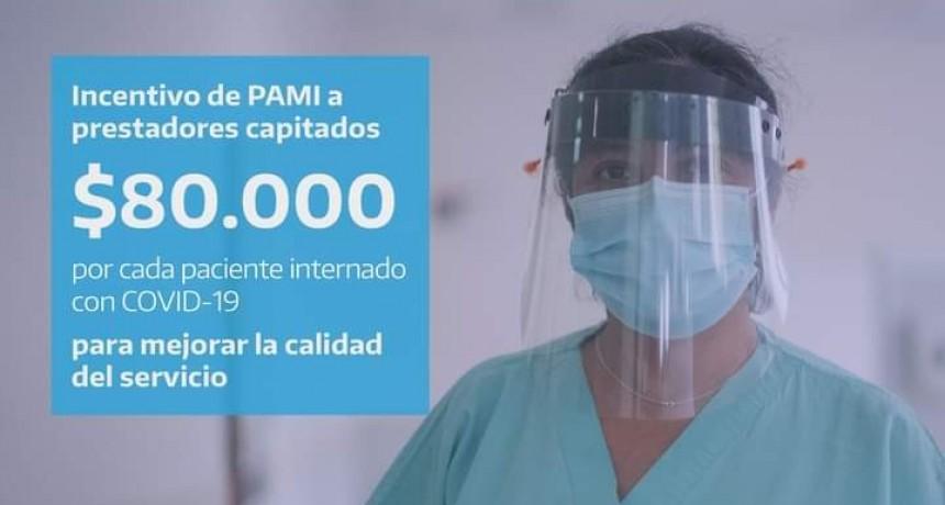 PAMI aumenta el pago por paciente internado en el Hospital