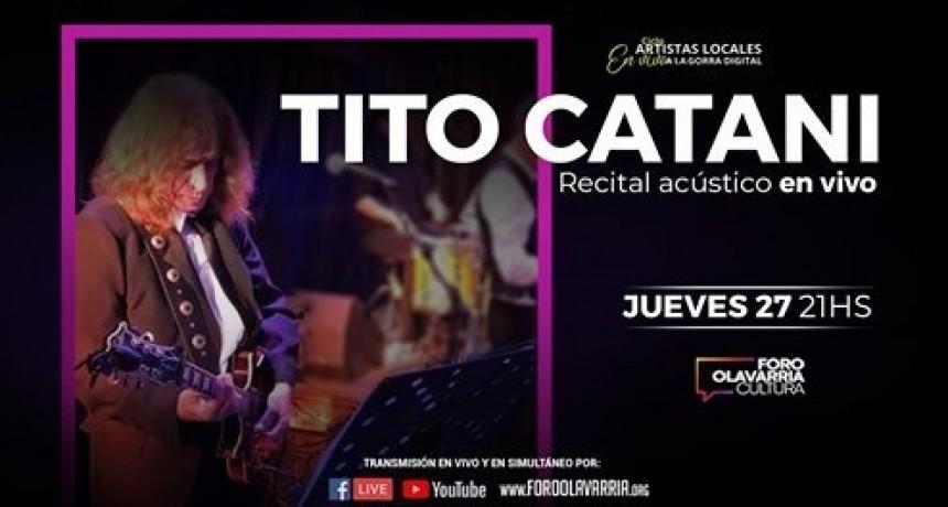Tito Catani en vivo por las redes del Foro Olavarría
