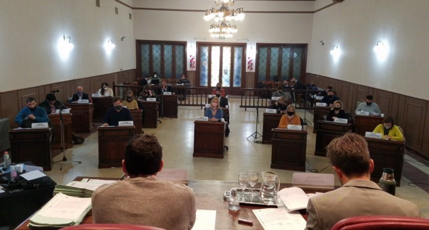 Con variada agenda, sesionó el Concejo Deliberante