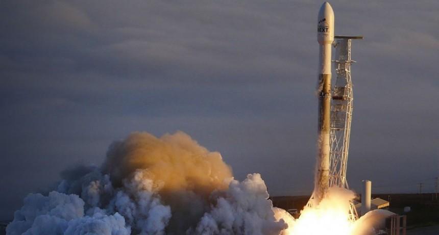 El satélite argentino Saocom 1B fue lanzado desde una base en Estados Unidos