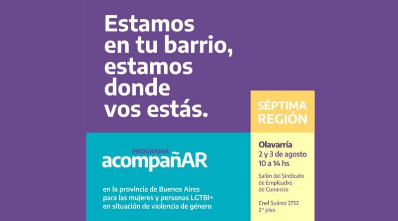 Lunes y martes inscriben en Olavarría para el 'Programa Acompañar'