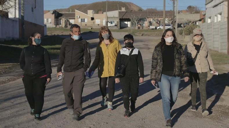 Precandidatos de 'Dar el Paso'estuvieron en Sierras Bayas