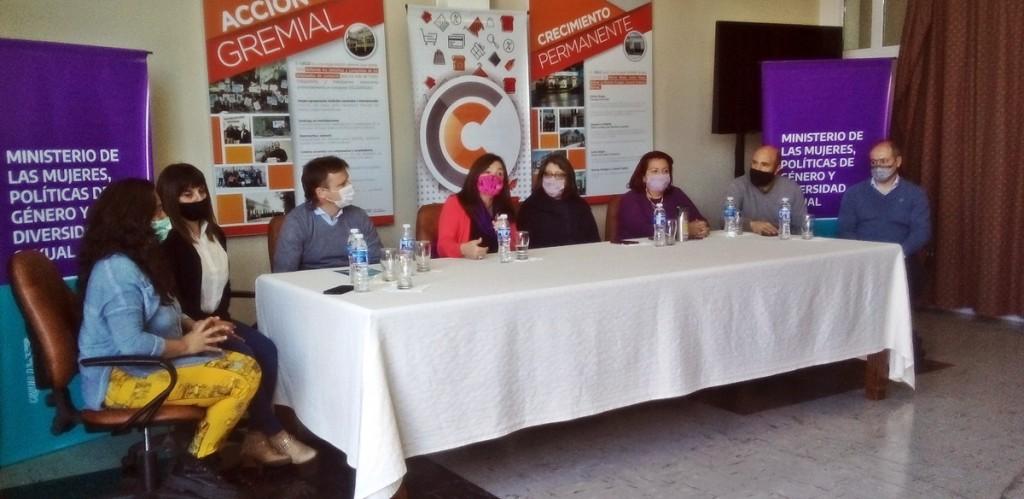 La Ministra de la Mujer, Políticas de Género y Diversidad de la Provincia cumplió agenda en Olavarría